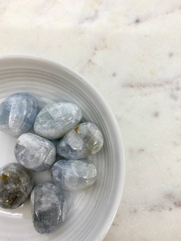 Celestite Crystal Tumbled (Each)