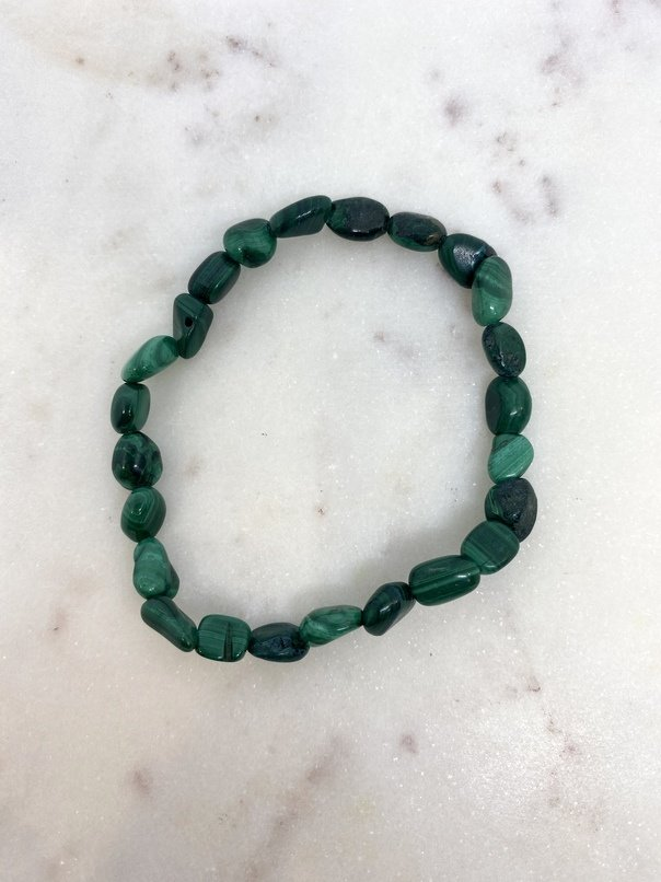 Malachite Crystal Bracelet
