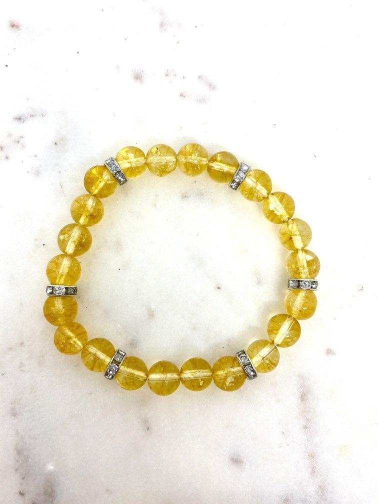 Citrine Crystal Bracelet