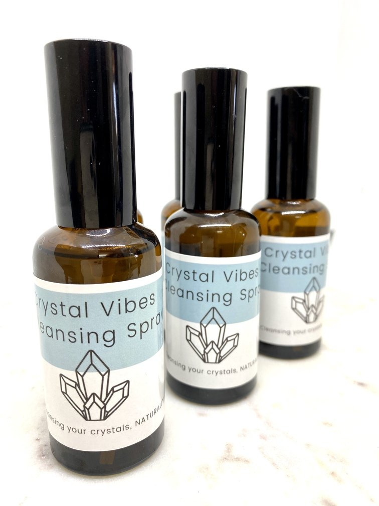 Crystal Cleansing 50ml Spray Bottle