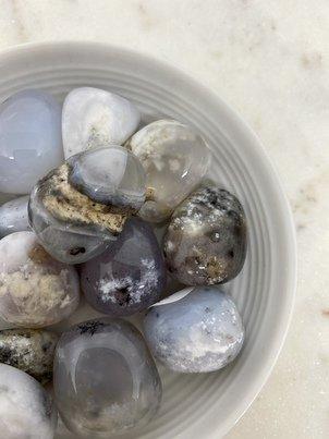 Dendrite Agate Crystal Tumbled