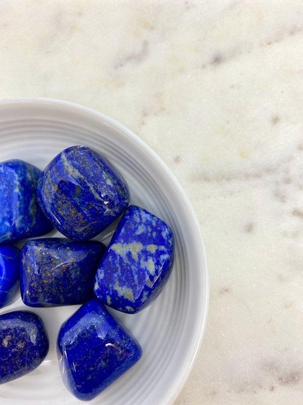Lapis Lazuli Crystal Tumbled