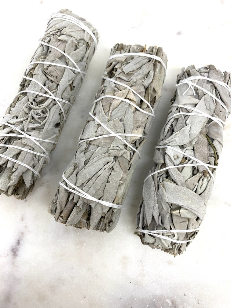 White Sage Smudging Stick Small (Each)
