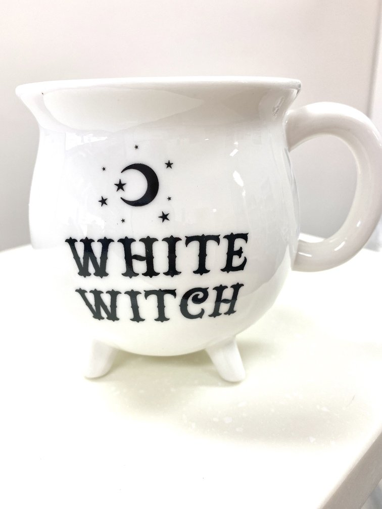 White Witch Cauldron Cup