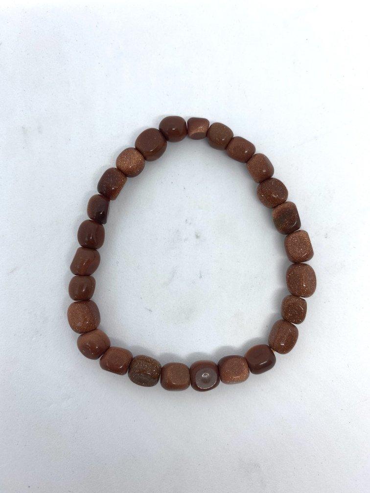 Goldstone Crystal Bracelet